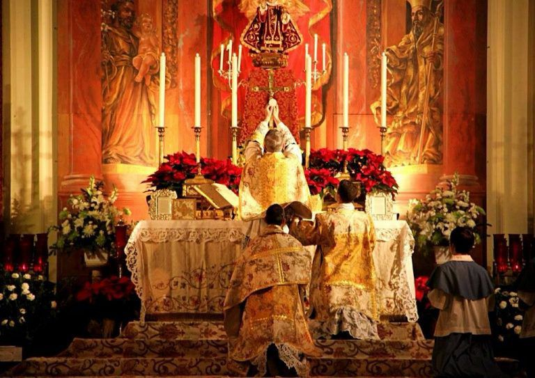 Misas según el rito extraordinario